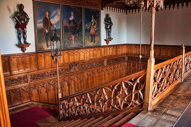 schodiště zámku