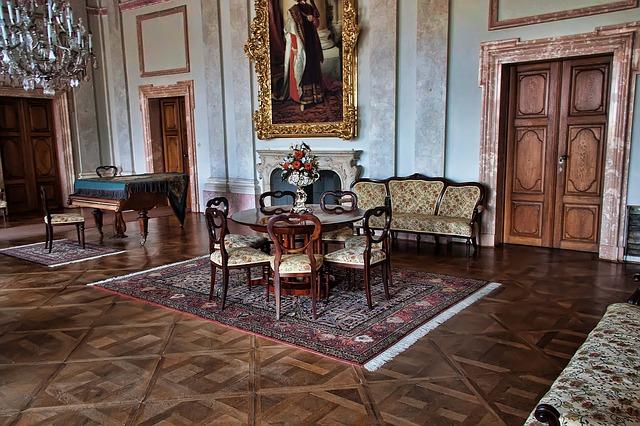 pokoj zámku Lednice