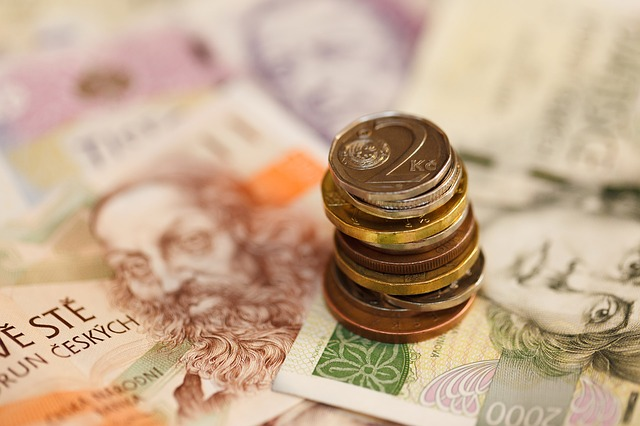 české drobné a papírové peníze