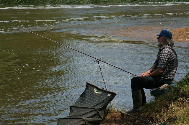 trpělivý rybář