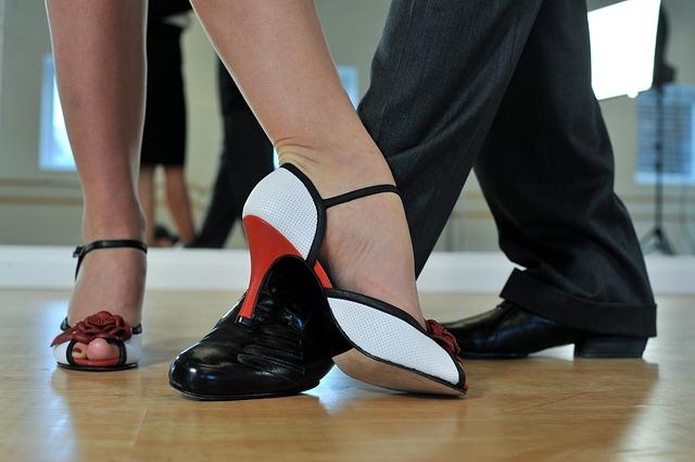 boty na tanec