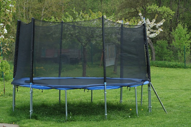 trampolina se sítí