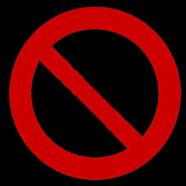zákaz klíšťatům