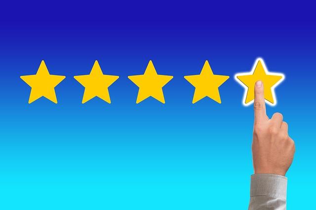 5 hvězdiček